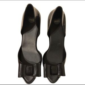 Melissa Chantilly Platforms with Bows